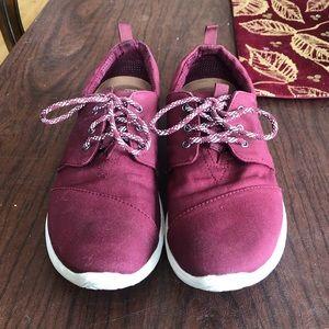 TOMS Del Rey sneakers in burgundy